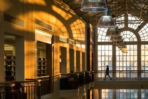 Stunning library