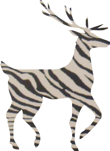 zebradeer
